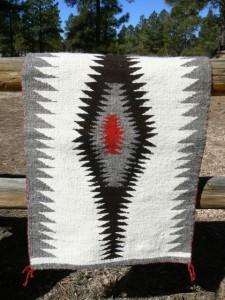 Katherine Eriacho weaving 1